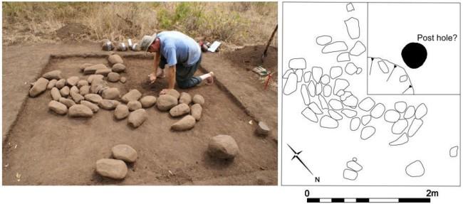 Excavation of small platform