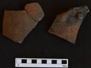 Rockshelter pottery
