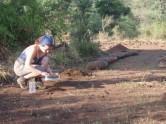 Soil sieving